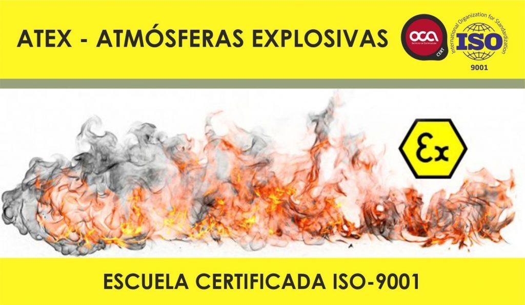 CURSO DE ATMOSFERAS EXPLOSIVAS ATEX eesea