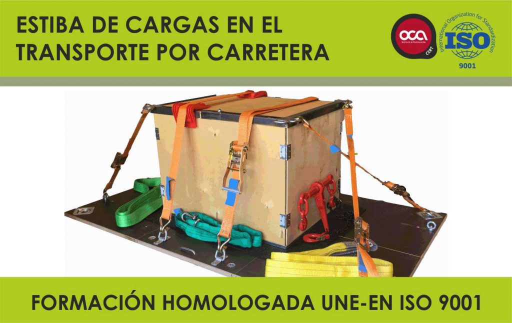 CURSO DE ESTIBA DE CARGAS EN CARRETERA. RD 563/2017