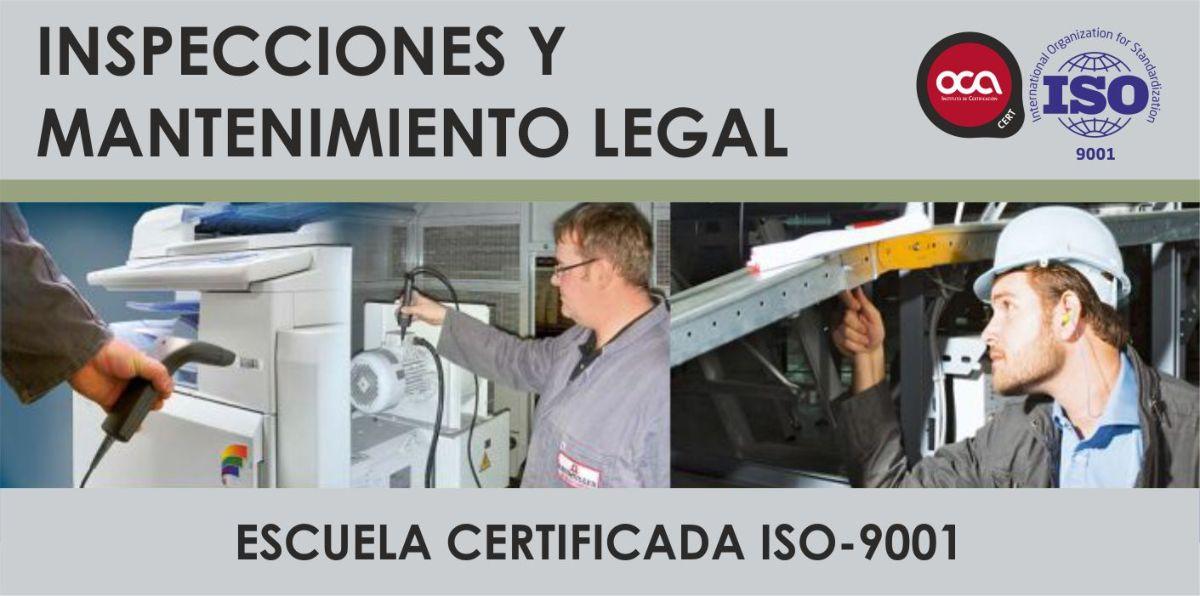 CURSO DE INSPECCIONES REGLAMENTARIAS Y MANTENIMIENTO LEGAL eesea