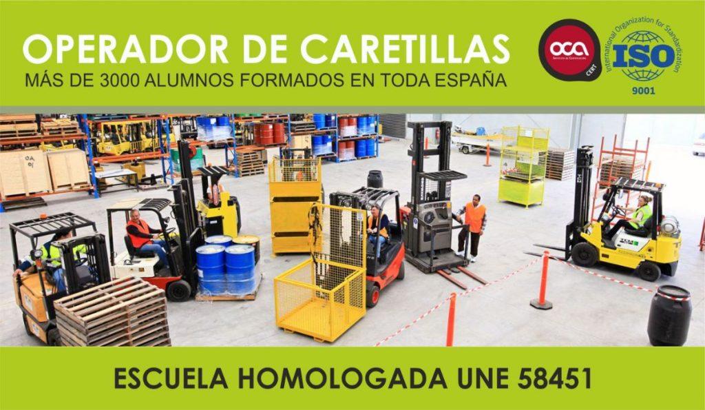CURSO DE OPERADOR DE CARRETILLAS ELEVADORAS. CARNET DE CARRETILLERO eesea