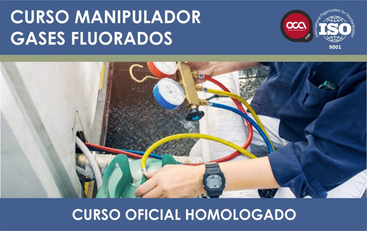Curso Homologado Gases Fluorados. Carnet Oficial eesea