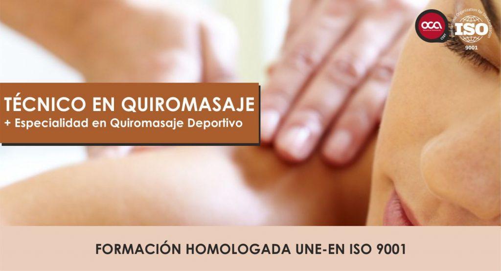 Curso Superior de Quiromasaje y masaje deportivo eesea