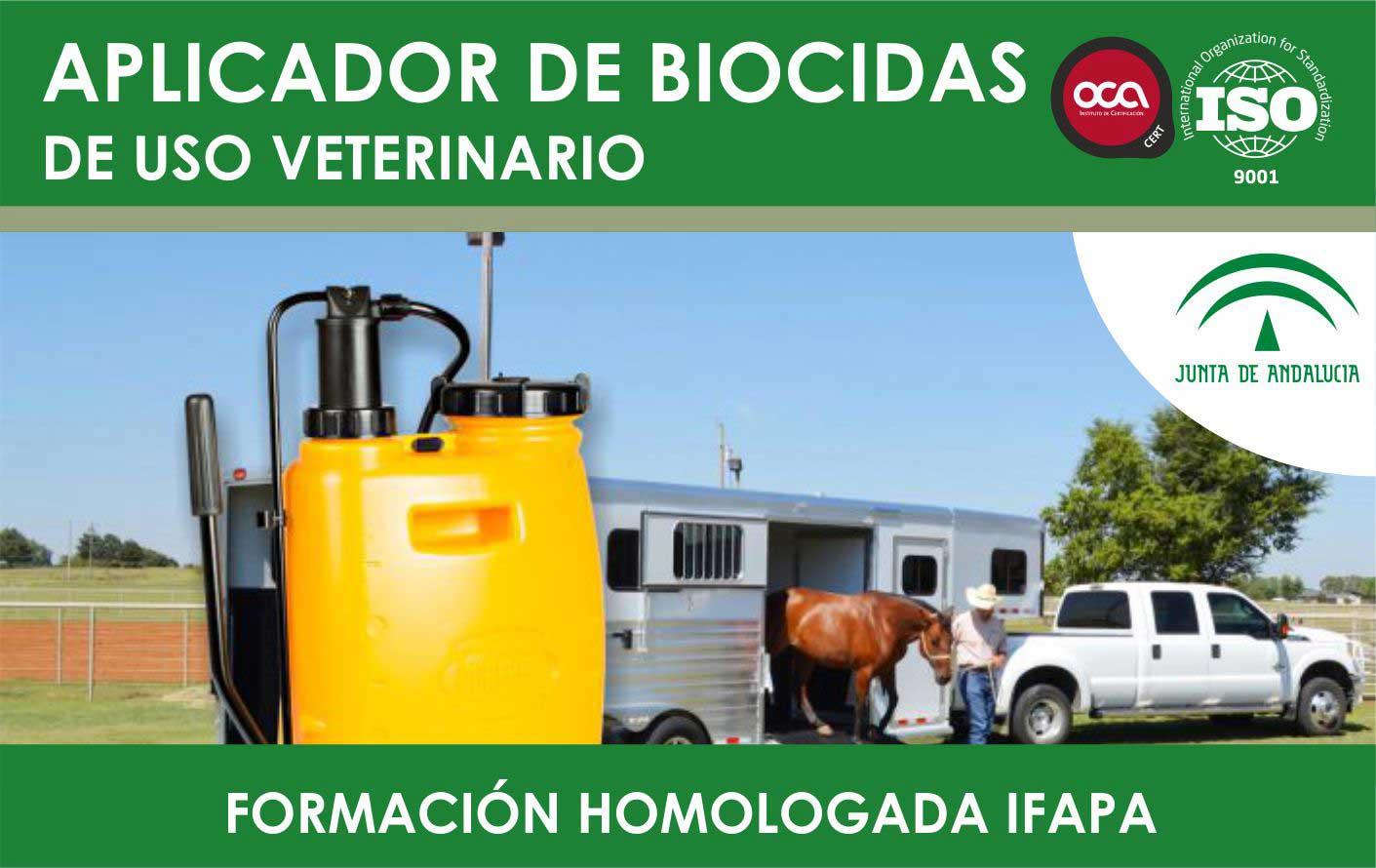 Curso de Aplicador de Biocidas. Carnet Oficial
