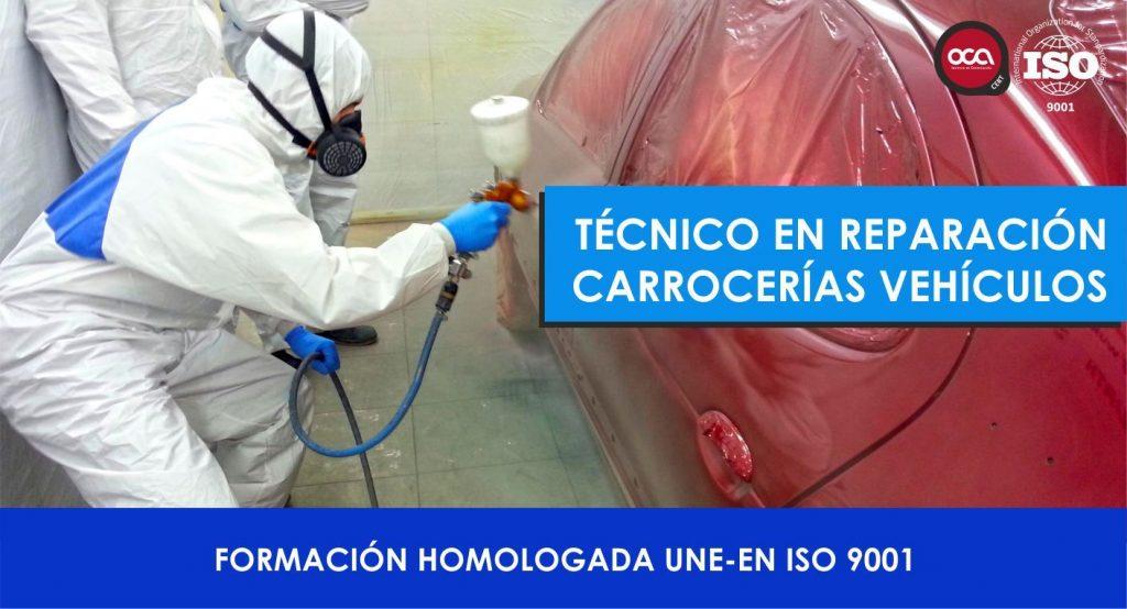 Curso de Tecnico Reparacion de Carrocerias de Vehiculos eesea