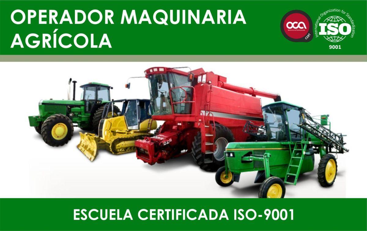 Curso de operador de maquinaria agricola eesea