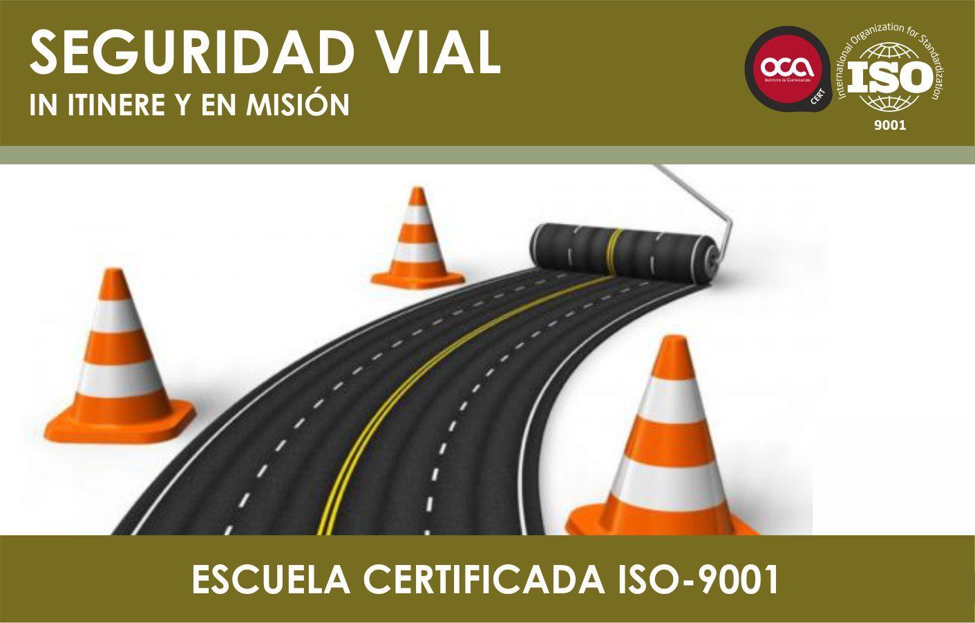 Curso de seguridad vial in itinere y en mision eesea