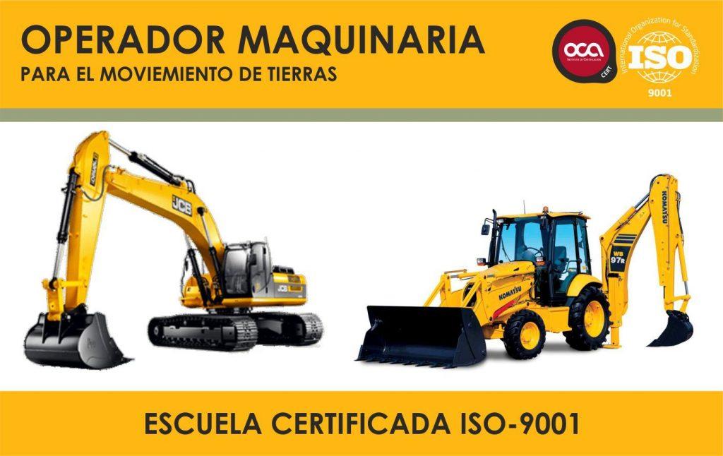 cursos de operador de maquinaria para el movimiento de tierras eesea