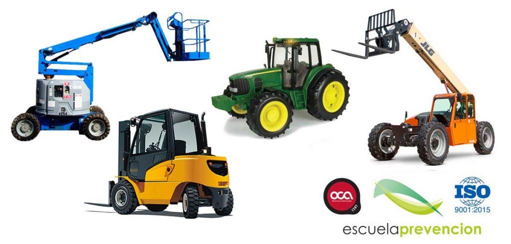 Cursos de Maquinaria, equipos de trabajo y vehículos industriales